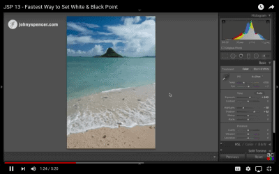 Fastest Way to Set White & Black Point for Maximum Contrast in Lightroom