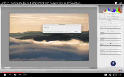 Setting the Black & White Point with Camera Raw & Photoshop.