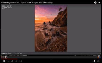 How to Remove Unwanted Objects with Photoshop Part 1