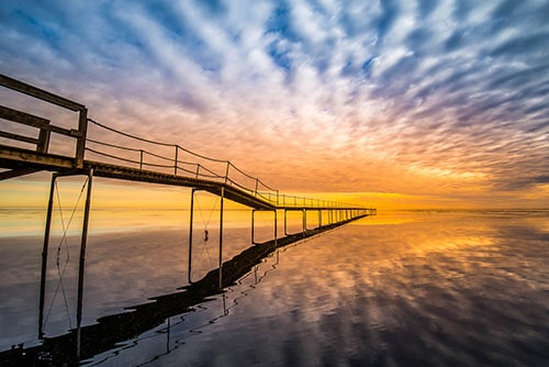 Mogens Rok The bridge to the sky and the sea 1
