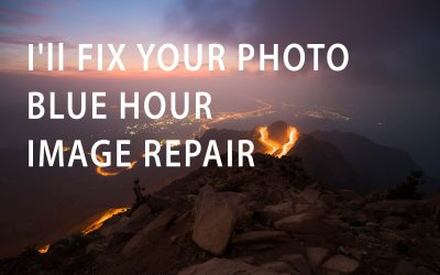 I'll fix your photo - Blue Hour Image Repair