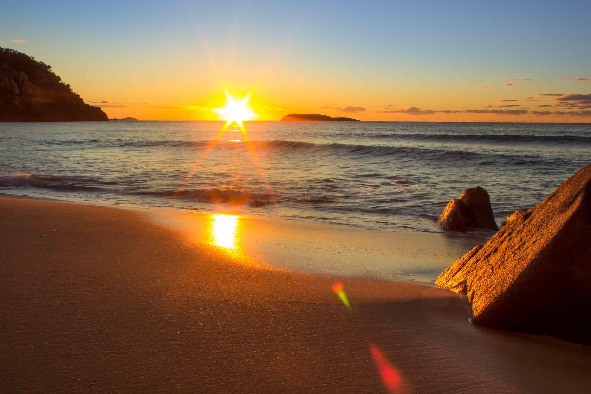 Mary Coles RAw Nelson Bay Sunrise 132