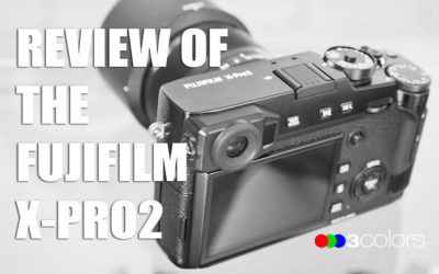 3C Podcast 20 - Review of the Fijifilm Xpro-2