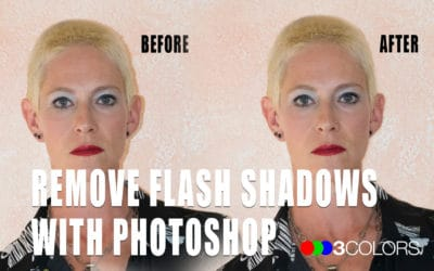 How to Remove Flash Shadows with Photoshop