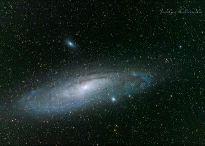 Andromeda Galaxy 1st try WM darker