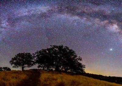 Figueroa Mtn Milky Way Arch