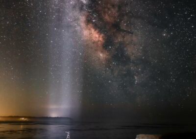 Milky way light from the deep space 6094